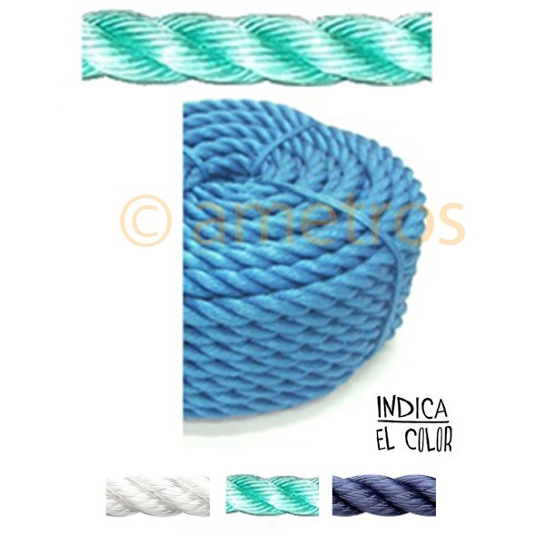 Cuerda de pl stico de colores 100 mts ametros - Cuerdas de colores ...